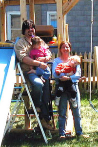 autism dad family swings 2005